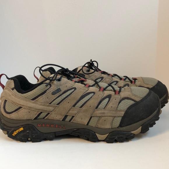 Merrell Moab waterproof hiking/trail shoe 13